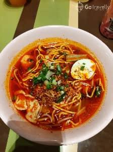 Makan Prawn Mee Yummy di Food Court Medan Selera Sky Avenue Genting Highlands!