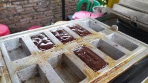 Nyoiki Brownies Meleleh. Beneran Meleleh???
