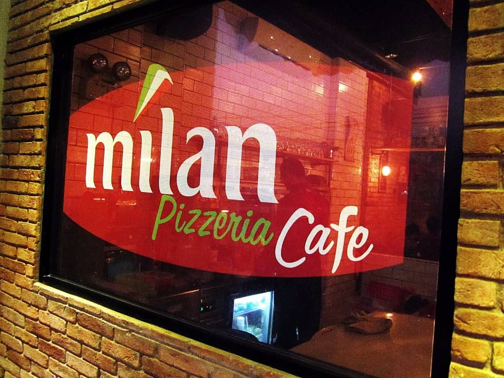 milan pizzeria cafe