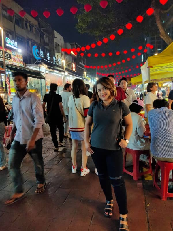 alor street night food