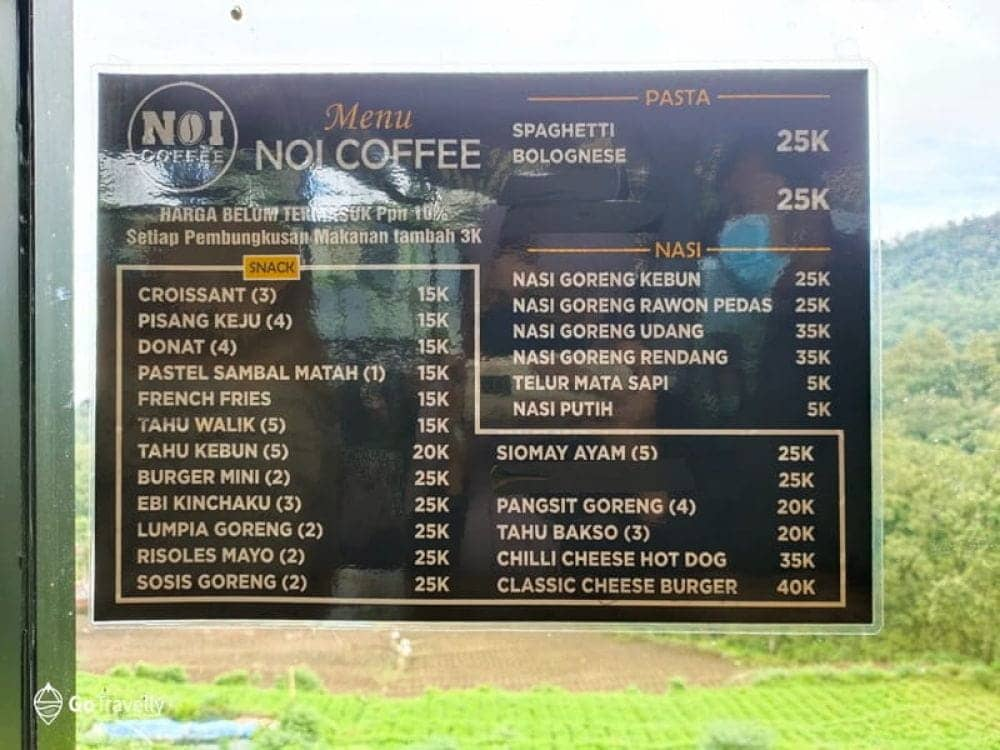 NOI Coffee Batu , cafe di batu
