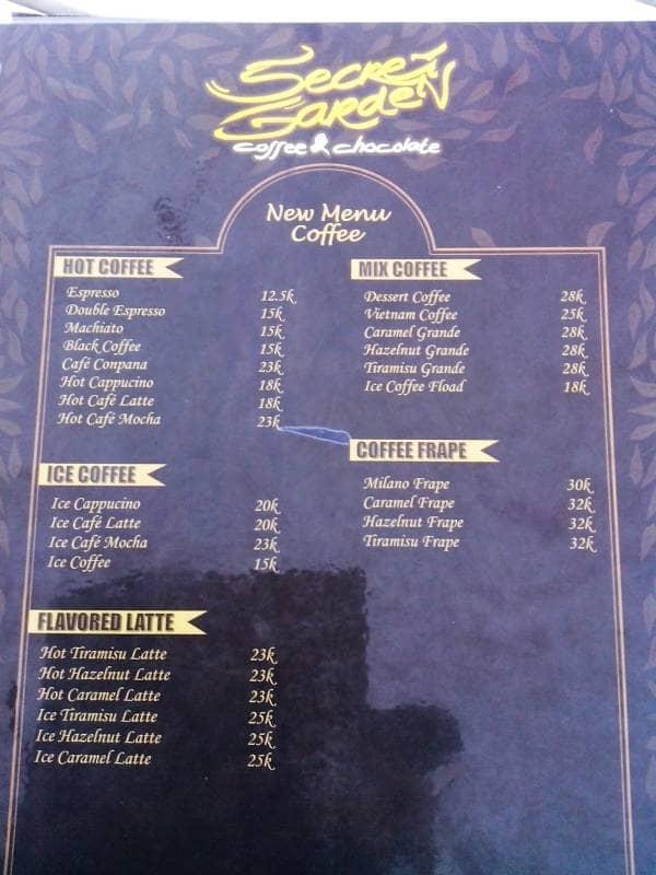 Secret Garden Coffee And Chocolate Gotravelly