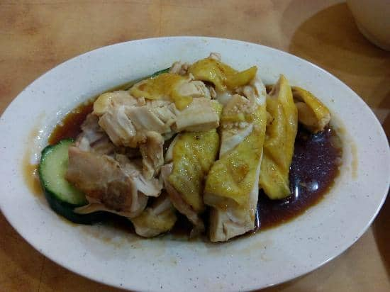 hainan chicken rice chee meng