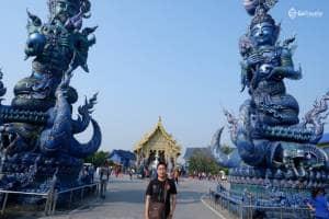 Indahnya Blue Temple Chiang Rai - Wat Rong Seur Ten