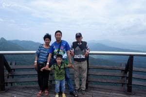 Menikmati Pemandangan Dari Sky Bridge Fenomenal Pulau Langkawi