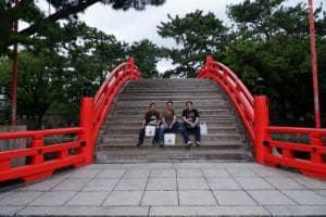 Sumiyoshi Taisha Osaka: Kuil Cantik dengan Arsitektur Unik