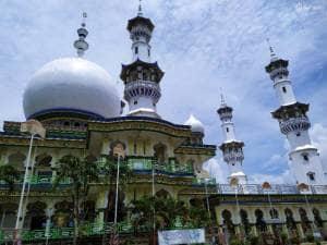 Masjid Al Bahar Arosbaya, Masjid Megah Berarsitektur Indah