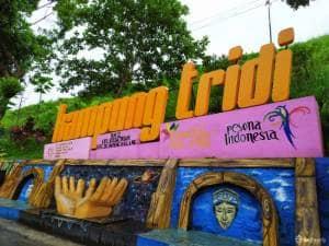 Kampung Tridi Malang: Kampung Tematik yang Bikin Betah Selfie
