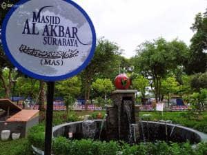 Menikmati Asrinya Masjid Edu Park, Gabungan Taman Edukasi dengan Religi