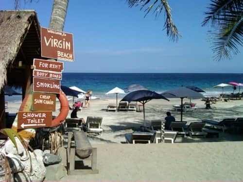 virgin beach bali