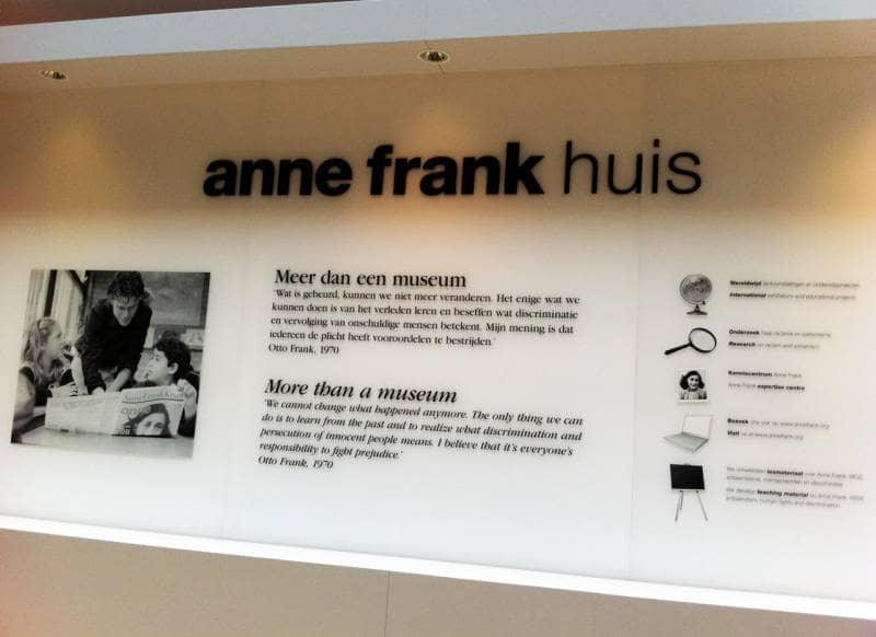 house of anne frank