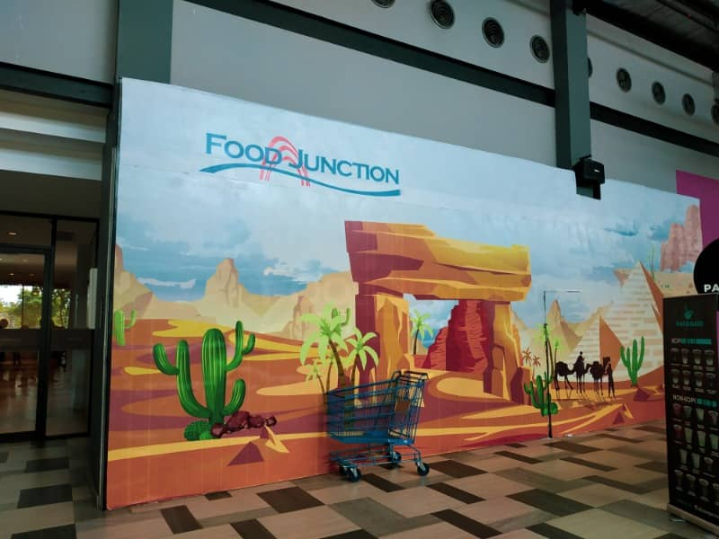 pintu masuk food junction