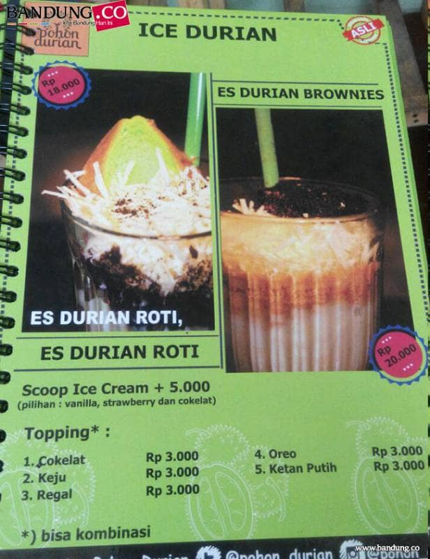 pohon durian cafe