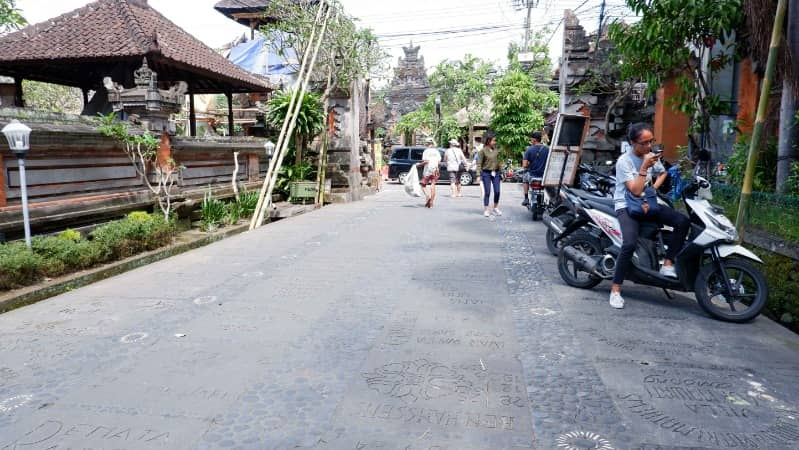 walk of fame versi ubud