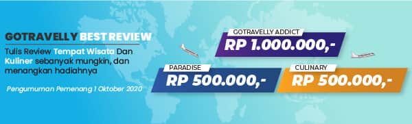 Share your paradise and culinary and get chance to win IDR 1.000.000