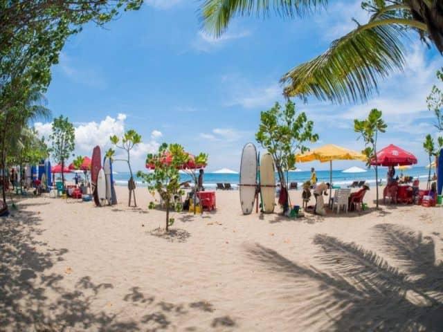 10 Gambar Pantai Kuta Bali Info Lokasi Harga Tiket Masuk