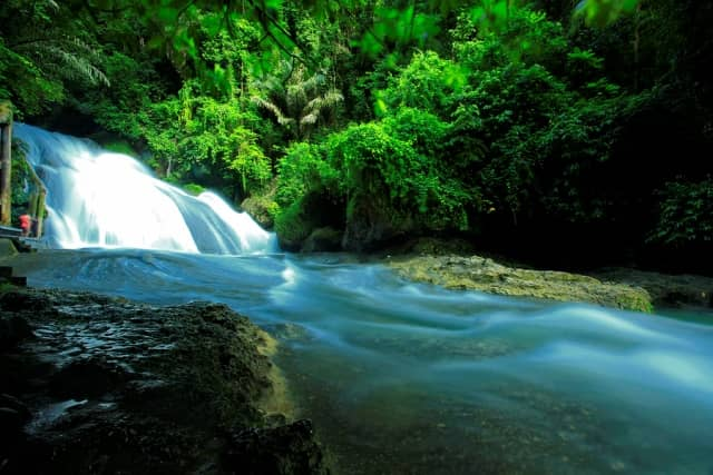40 Cara Gambar Pemandangan Air Terjun HD Terbaru