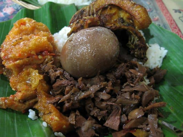 makanan tradisional Jogja terkenal