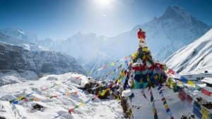 salju di negara asia