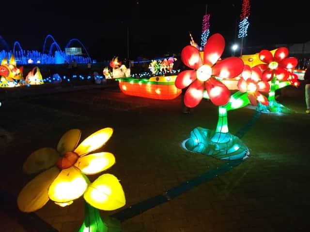 Festival of Light Surabaya
