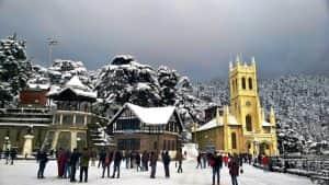 salju di India