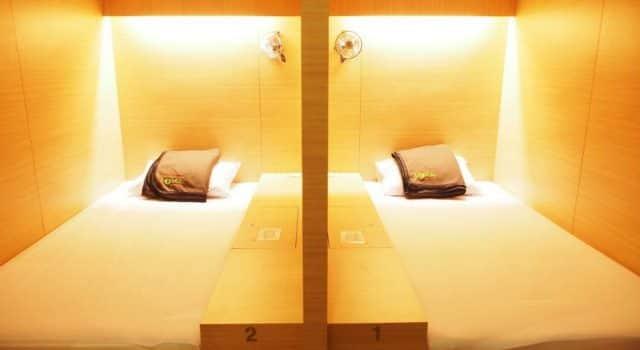 hotel kapsule di Indonesia