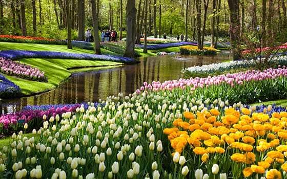 10 Taman Bunga Paling Indah Di Dunia Bertabur Bunga Siap Manjakan Mata Taman Bunga Paling Indah