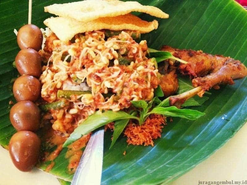 Pecel enak di Kediri