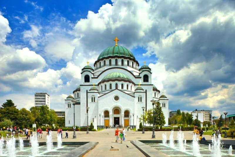 tempat wisata di serbia