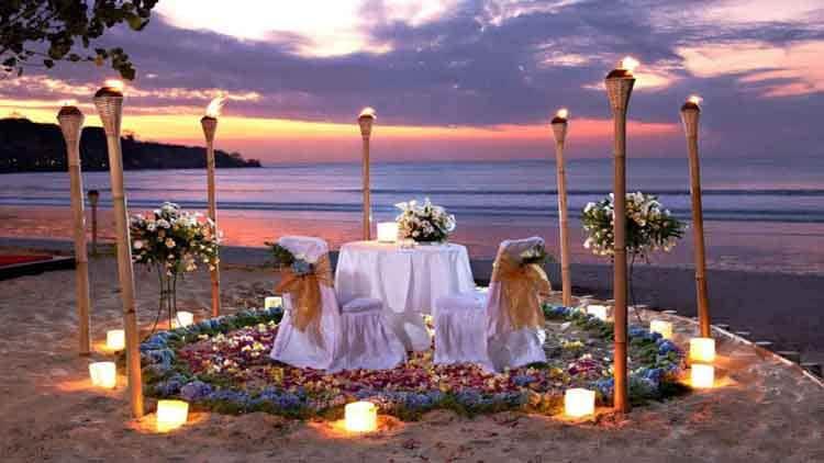 tempat romantis di Asia