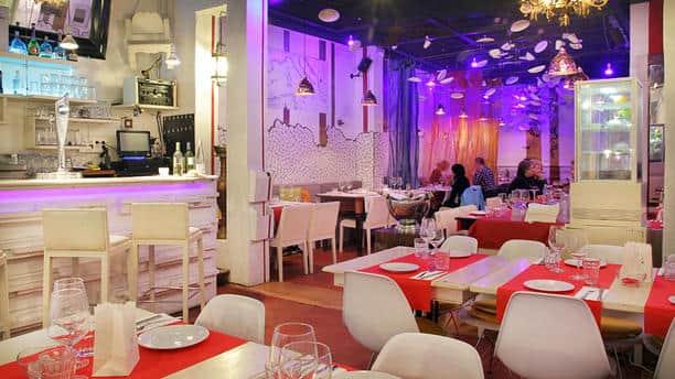 Tempat makanan Halal Di spanyol