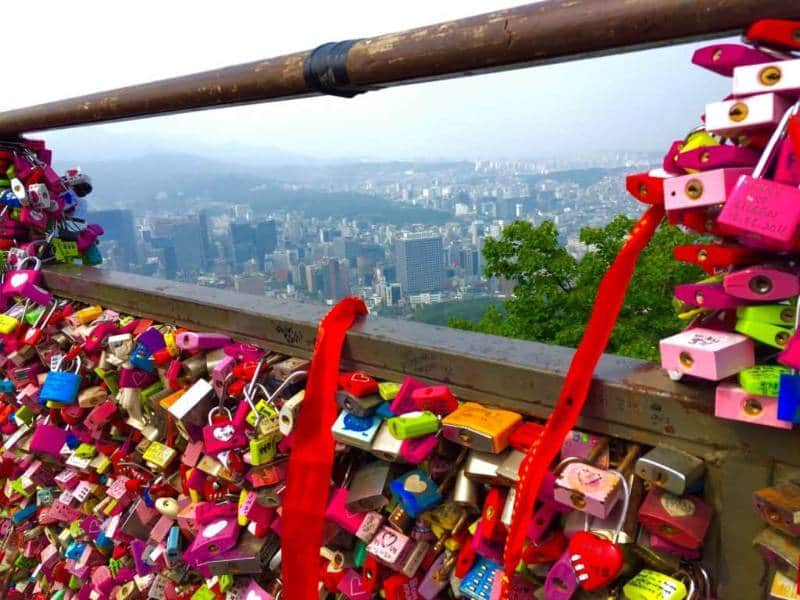 gembok cinta di korea