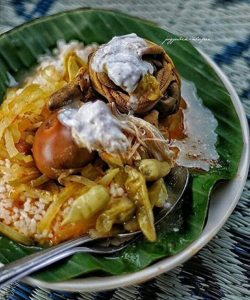 nasi liwet enak di Jawa Tengah