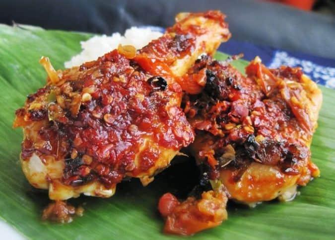 Olahan ayam bakar dari berbagai daerah