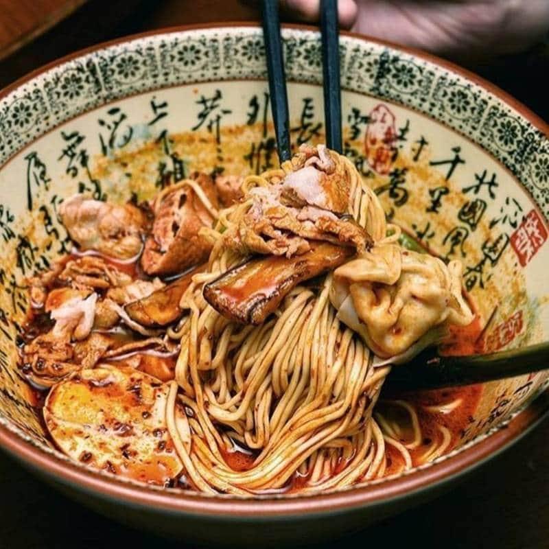 Sup mie la mian dari Tiongkok