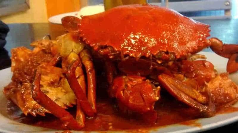Kepiting enak di Surabaya