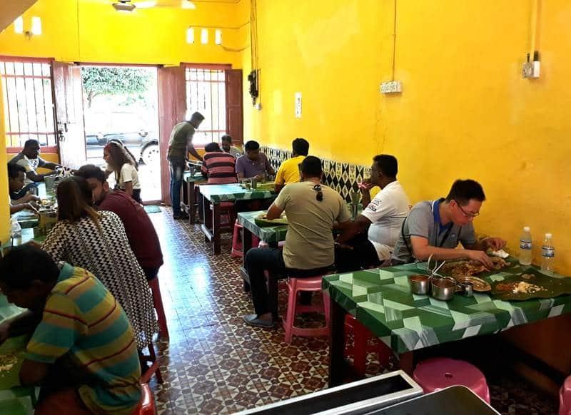 Banana leaf restaurant penang