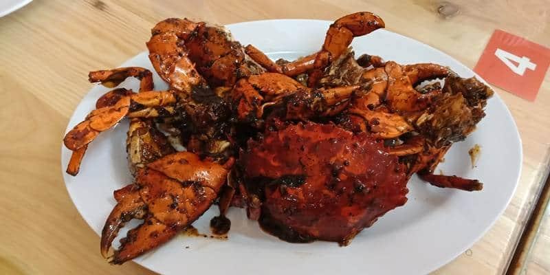 Kepiting enak di Jakarta