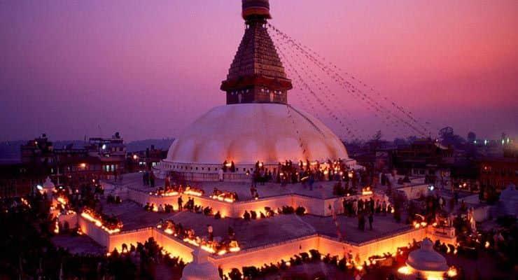 Waisak di Nepal