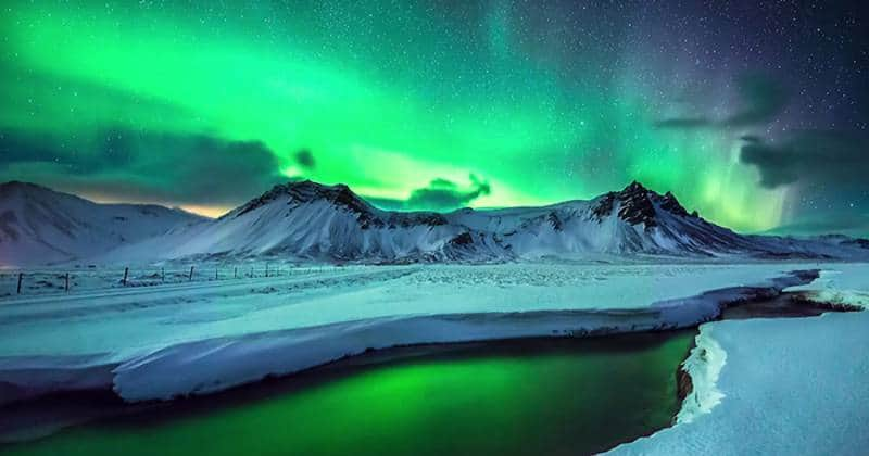 aurora bareilis greenland