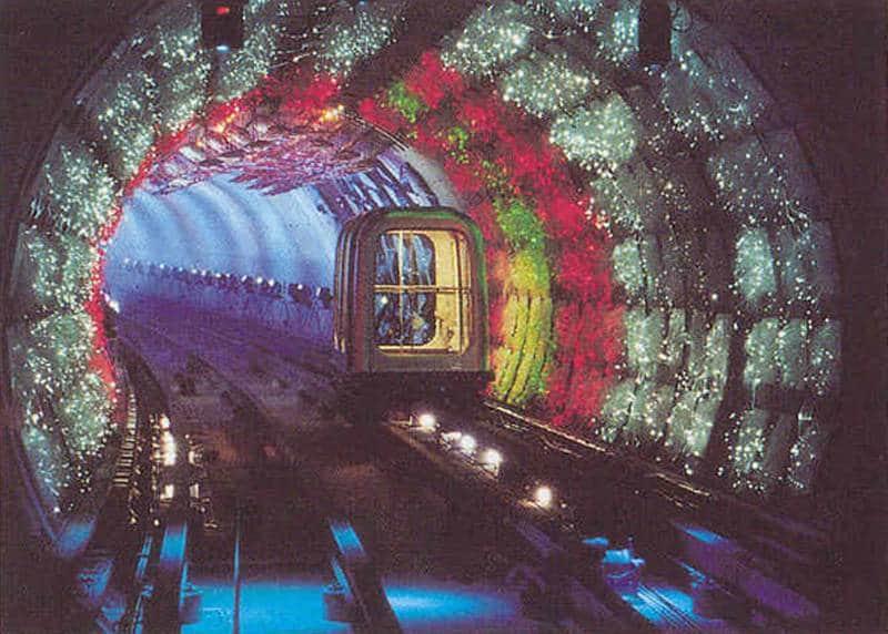 stasiun bawah tanah paling instagramable