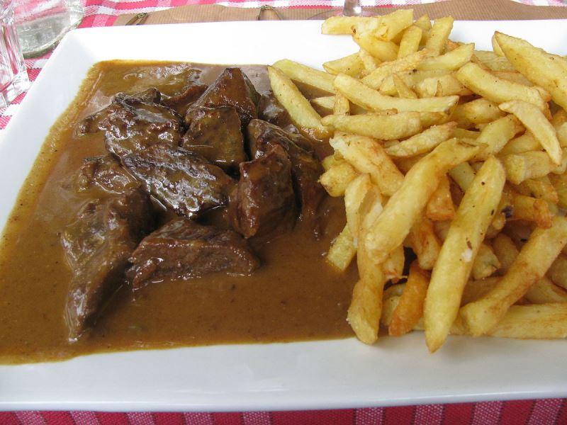makanan khas Belgia