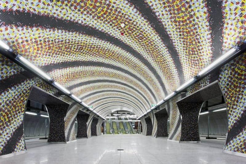 stasiun bawah tanah paling keren di dunia