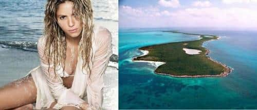 pulau pribadi milik sebebriti