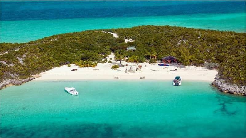 pulau pribadi mili selebriti hollywood