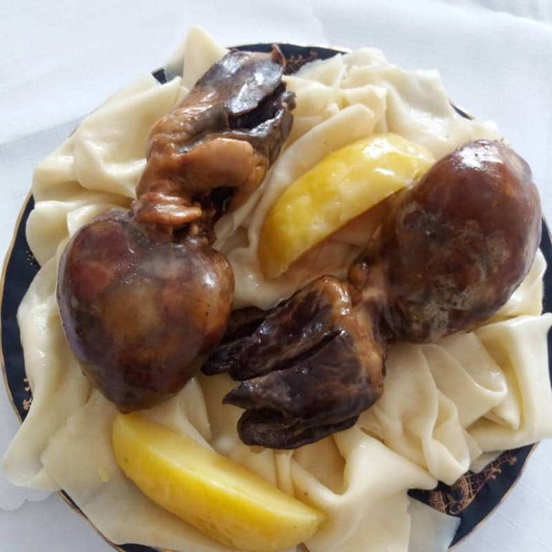makanan khas kazakhstan