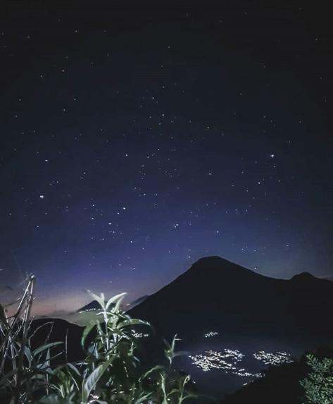 tempat melihat bintang di malam hari