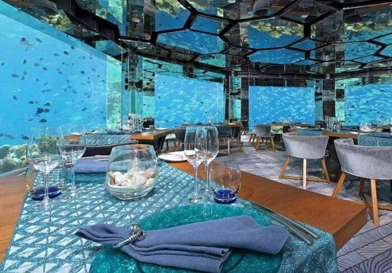 restoran bawah laut terbaik di dunia