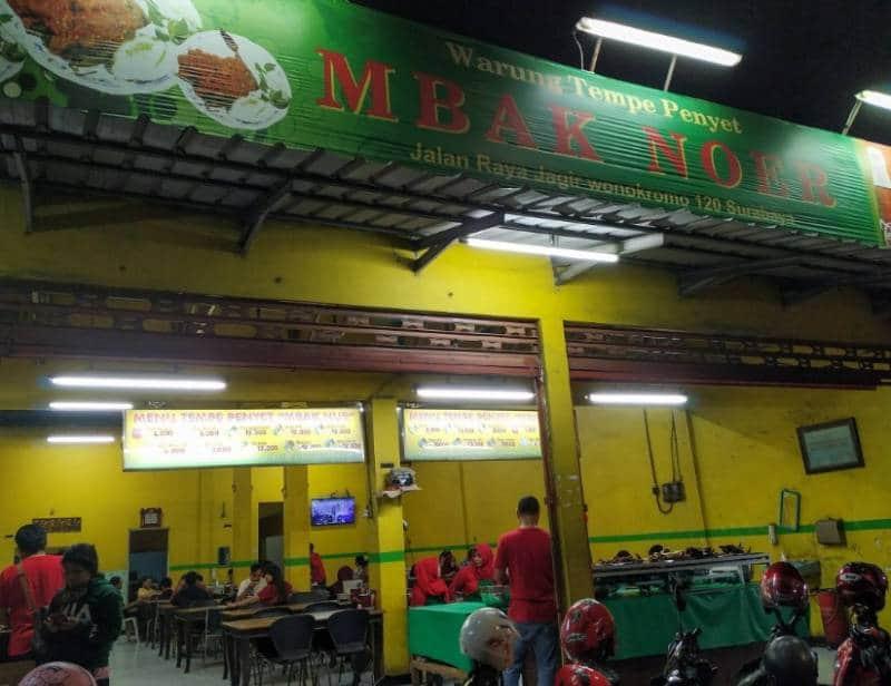 penyetan paling enak di Surabaya
