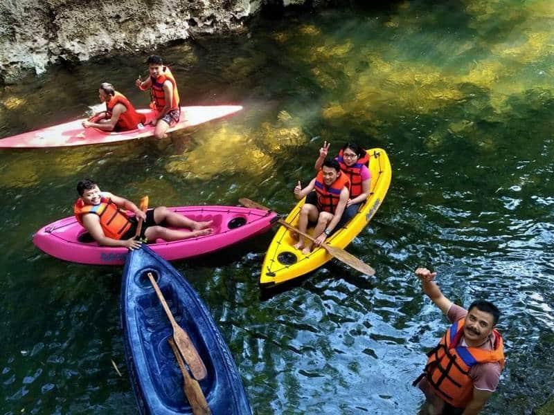 tempat bermain kayak terbaik di indonesia
